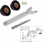 Hs5157 Front Mount Hydraulic Steering Cylinder Seal Kit For Seastar