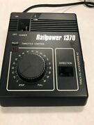 Ho N Scale Railpower 1370 Power Pack Lights Up Untested Train Transformer