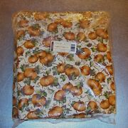 Longaberger Pumpkin Patch Fabric 5-yards Yds Made In Usa Brand New In Bag