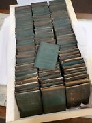 Little Leather Library Mini Books Suede Leather 96 Vol. Lot Antique Shakespeare