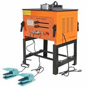 Electric 3000w Rebar Bender Bending 1.25 32mm W/ 2 Pedal Stand Included