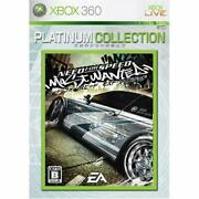 [xbox360][used]need For Speed Most Wanted Platinum Collection Japan Import