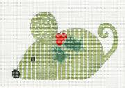 Sp.order Green Stripe Mouse Hp Needlepoint Canvas By Ch Designs From Danji
