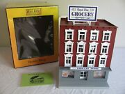Mth Lionel O/o-27 Scale Lighted 4-story City Building Grocery Store 30-9058 Nos