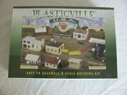 Bachmann Plasticville O/o-27 And S Scale Police Station W/ Police Car 45609 Nos