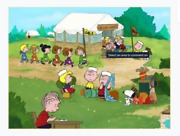 Peanuts-what I Did This Summer My Camp Story-limited Edition Cel Part 1 Of 3