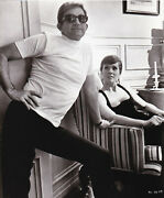 Original Photograph Of Julie Andrews And Blake Edwards On The Set Of 149408