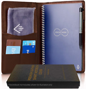 Genuine Soft Leather Cover For Rocketbook Everlast Core Fusion Executive Size -
