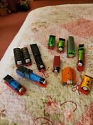 1985 Thru 1992 Thomas Tank Engine Trains No Offers, Usa Sale Only. Lot Of 19