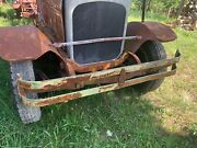 1928 Seagrave Front Fenders