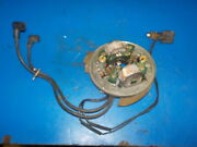 Johnson Sea Horse 10 Hp 1959 Points Plate Armature Ignition/ Kill Switch Used