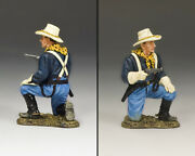 New King And Country Trooper Kneeling With Pistol Kx021 John Ford's Us Cavalry