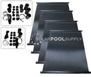 Fafco Solar Pool Heater Diy Kit - 4 4and039x8and039 / 128 Square Feet