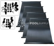 Fafco Sunsaver Solar Pool Heater Panel Diy Kit 4 4and039x8and039 - 128 Square Feet