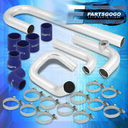 For 05-10 Scion Tc At10 2.4l Bolt-on Intercooler Turbo Piping Kit Set + Couplers
