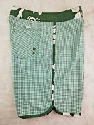 Old Navy Menand039s Printed Swim Trunks -- 6-inch Inseam Size Large