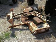 Woods L59 Belly Mower Allis Chalmers Ac B Tractor Mounting Brackets Pulley And Hl
