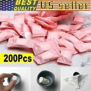 200pcs Travel Dry Compressed Coin Face Towel Baby Wipes Tablet Travel Tissue Usa