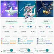 Pokemon Master League - Maxed L40 - 3 Moveset Atk - Top Pvp - Describe