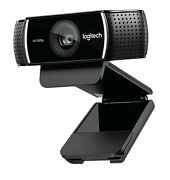 New Logitech 1080p/30 Fps Pro Stream Webcam For Hd Video Fast Shipping