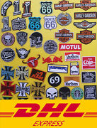 Wholesale Moto Racing Motorcycle Sew Iron Embroidered On Patch