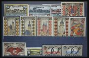 Lot 32349 Collection Emergency Banknotes Of Germany.