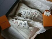 Very Rare Authentic Louis Vuitton Zigzag Sneaker New Size Lv 10 Nwb Sold Out