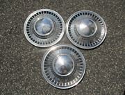 Genuine 1961 Ford Galaxie 14 Inch Hubcaps Wheel Covers