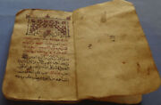 Coptic Manuscript Aghpea With The Seven Sermons 1620 Martyrs Year 1905 Ad