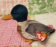 Beanie Baby Jake Mallard Duck Nwt Errors Mismatched Tags 1997 And 1998 Original Ty