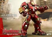 1/6 Hot Toys Mms285 Avengers Age Of Ultron Hulkbuster 21 Movie Action Figure