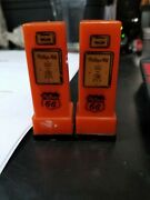 1950and039s Phillips 66 Gas Pumps Salt And Pepper Shakers