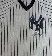 Lefty Gomez Authentic Autographed Signed New York Yankees Jersey Psa/dna V09459