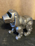 Tekno Newborn Puppy Interactive Robot Dog By Manley Toy Quest. Used Works Well.