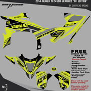 Yfz450r Graphics 2014-newer Dfr Df Edition Flo Yellow Sides Fenders