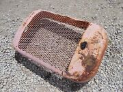 Allis Chalmers B Tractor Original Front Nose Cone Grill Radiator Cover