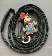 Disney Mickey Mouse Train Engineer Cast Member Exclusive Bolo Lanyard