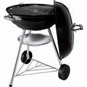 Premium Charcoal Grill Bbq Barbecue Cooker Smoker Pit Wheels Portable Weber New