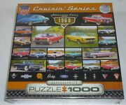 Eurographics Cruisin' Series American Cars Of The 1960 Puzzle 1000