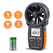 Digital Anemometer Handheld Wind Speed Meter0.3-40m/s Usb Connect Pc Tester 866a