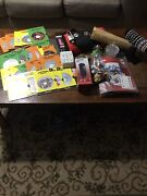 Junk Drawer Lot Assortment 25+dvd's, Corded Phone, Jewelry, +++. All Nice Items