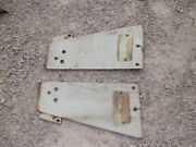 International Ih 806 Farmall Tractor Front Pair Set Radiator Side Cover Panels