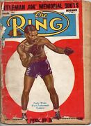 65113. Dec 1942 The Ring Boxing Magazine Joe Louis And Wwii Champs, Gi Training