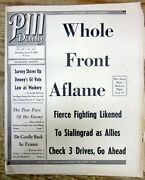 1944 Ww Ii Newspaper Allied Invasion Of Normandy France D-day Many Early Photos