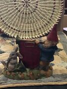 Tom Clark Tim Wolfe Gnomes Cairn Christmas 2001  Excellent Store Display B
