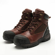 Menand039s Work Boots Composite Toe Outsole Puncture Protect Electrical Hazard Safety