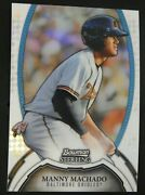 Manny Machado Rc Rookie 128/199 - 2011 Topps Bowman Sterling Refractor No.9