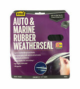 Md Building 01025 17ft. All Climate Auto And Marine Epdm Rubber Weatherstrip