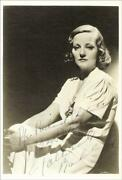 Tallulah Bankhead - Inscribed Photograph Signed
