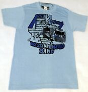 Vintage Augie Meyers And His Western Head Band 1973 Ponytail T - Shirt M